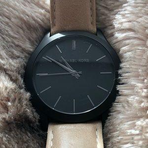 Light tan MK watch